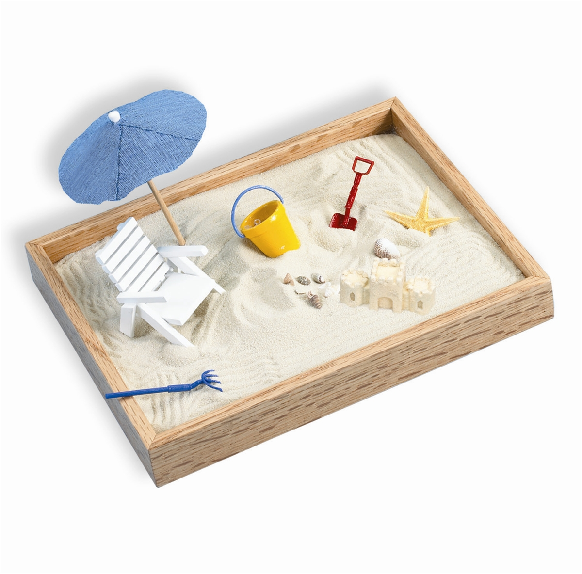 Desktop Toys For Grown Ups : Executive sandbox a day at the beach