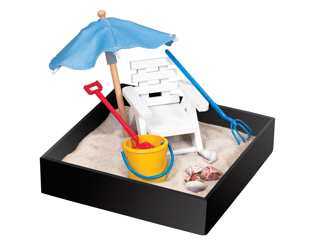 Toys For Sandbox : Executive mini sandbox beach break