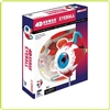 4D Human Eyeball Anatomy Model