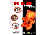 Red Gummi Bear Anatomy Model by Jason Freeny