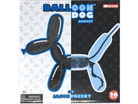 Purple Balloon Dog Anatomy Model by Jason Freeny