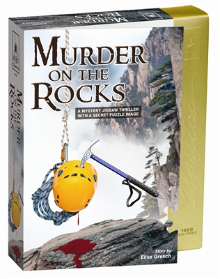 Murder on the Rocks - A Mystery Jigsaw Puzzle
