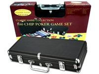 300 Heavy-Weight Poker Chips in Black Aluminum Case