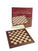 "16"" WALNUT CHESS BOARD"