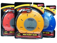 Wham-O Max Flight Glow Frisbee Disc