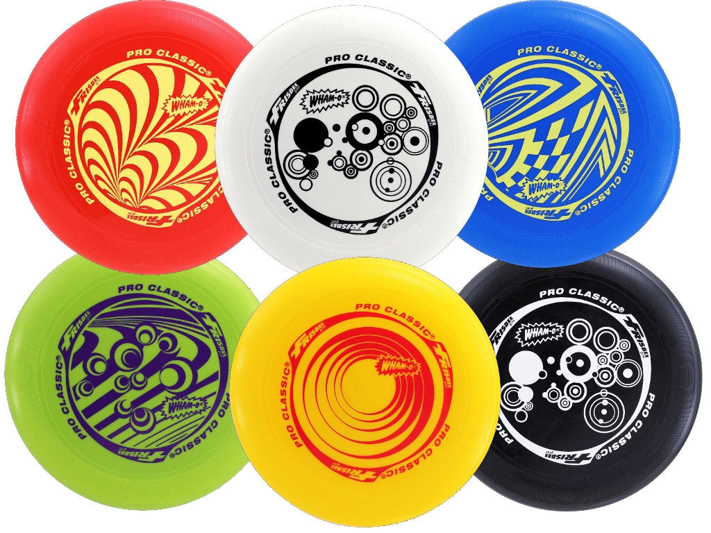 Most Popular Colors Wham O Pro Classic Frisbee With U Flex