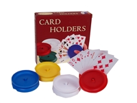 Set of 4 Round Card Holders