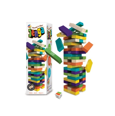 Jenga Throw 'n Go