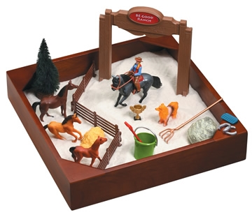 "My Little Sandbox Play Set - Horse Ranchâ""¢"