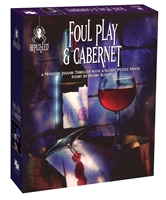 Foul Play and Cabernet - A Mystery Jigsaw Puzzle