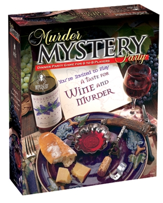 A Taste for Wine and Murder