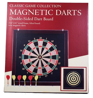 Classic Game Collection Double Sided Magnetic Dart
