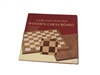 "20"" WALNUT CHESS BOARD"