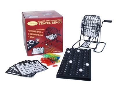 Travel Bingo Set