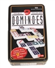 Double 9 Dominoes in Tin Case