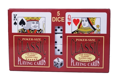 Playing Card/Dice Set