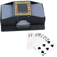 Classic Game Collection 2 Deck Automatic Card Shuffler
