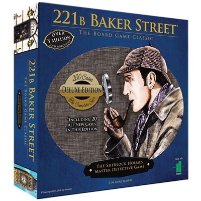221 B Baker Street The Master Detective Game (Deluxe Edition)