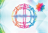 Mini Hoberman Sphere - Rainbow