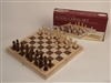 "Classic Game Collection 18"" Deluxe Wood Chess Set"