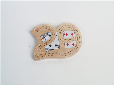 "Mini ""29"" Cribbage Board"