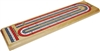 3-Track Color Cribbage Board